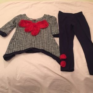 Mia Belle Baby Toddler Outfit